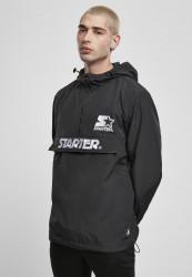 Pánska bunda Starter The Classic Logo Windbreaker Farba: black,