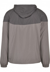 Pánska bunda URBAN CLASSICS 2-Tone Tech Windrunner darkshadow/asphalt #6