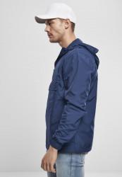 Pánska bunda URBAN CLASSICS Basic Pull Over Jacket darkblue #1