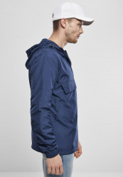 Pánska bunda URBAN CLASSICS Basic Pull Over Jacket darkblue #2
