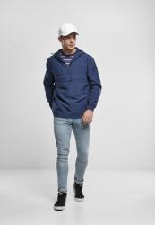 Pánska bunda URBAN CLASSICS Basic Pull Over Jacket darkblue #3