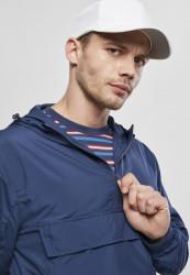 Pánska bunda URBAN CLASSICS Basic Pull Over Jacket darkblue #4