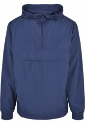 Pánska bunda URBAN CLASSICS Basic Pull Over Jacket darkblue #5