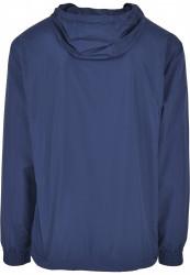 Pánska bunda URBAN CLASSICS Basic Pull Over Jacket darkblue #6