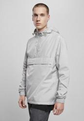 Pánska bunda URBAN CLASSICS Basic Pull Over Jacket lightasphalt #1