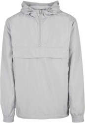 Pánska bunda URBAN CLASSICS Basic Pull Over Jacket lightasphalt #6