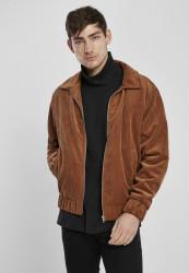 Pánska bunda Urban Classics Boxy Corduroy Jacket toffee