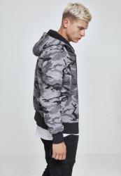 Pánska Bunda Urban Classics Camo Zip Jacket #3