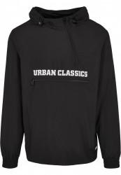 Pánska bunda Urban Classics Commuter Pull Over Jacket black