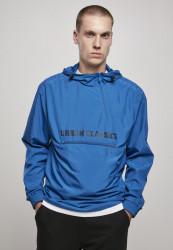 Pánska bunda Urban Classics Commuter Pull Over Jacket sporty blue