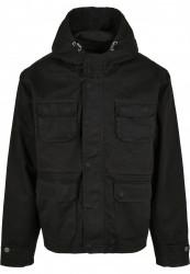 Pánska bunda Urban Classics Cotton Field Jacket black