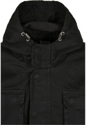 Pánska bunda Urban Classics Cotton Field Jacket black #2