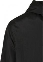 Pánska bunda Urban Classics Full Zip Nylon Crepe black #3