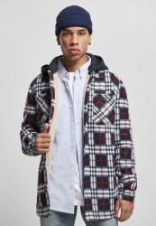 Pánska bunda Urban Classics Hooded Polar Fleece Overshirt