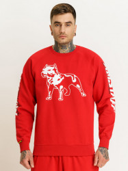 Pánska červená mikina Amstaff Logo 2.0 Sweatshirt Size: 3XL