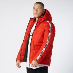 Pánska červená zimná bunda 304 Clothing Farba: Červená,