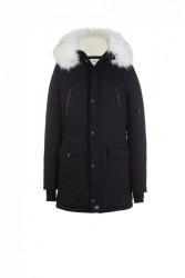 Pánska čierna bunda na zimu Sixth June Big Fur Parka #4