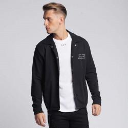 Pánska čierna košeľa s dlhým rukávom 304 Clothing Farba: Čierna, #2