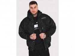Pánska čierna zimná bunda Amstaff Conex Winterjacke 2.0 - schwarz