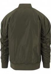 Pánska Khaki bombera Urban Classics Oversized Bomber Jacket Farba: Khaki, #5