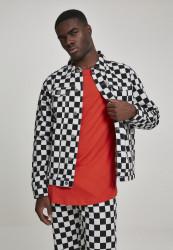 Pánska kockovaná bunda Urban Classics Check Twill Jacket