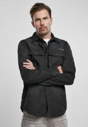Pánska košeľa BRANDIT Hardee Denim Shirt Farba: olive grey, Grösse: XXL