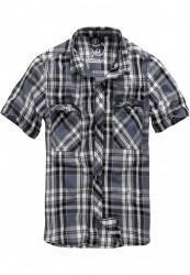 Pánska košeľa BRANDIT Roadstar Shirt Farba: black/charcoal, Grösse: XXL