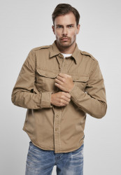 Pánska košeľa BRANDIT Vintage Shirt Farba: camel, Grösse: 7XL