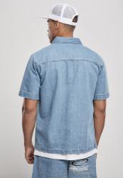 Pánska košeľa Southpole Denim Shirt Farba: mid blue, #2