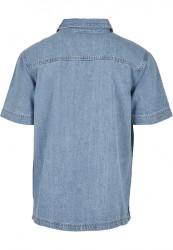 Pánska košeľa Southpole Denim Shirt Farba: mid blue, #6