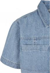 Pánska košeľa Southpole Denim Shirt Farba: mid blue, #8