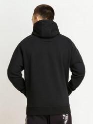 Pánska mikina Amstaff Logo 2.0 Hoodie black white Size: 3XL #1