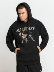 Pánska mikina Amstaff Logo 2.0 Hoodie čierna Size: 3XL