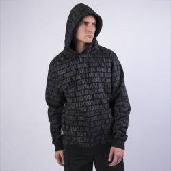 Pánska mikina Cayler & Sons Black Label CSBL All Area Hoody black/reflective
