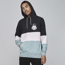 Pánska mikina Cayler & Sons BLACK LABEL Sweatshirt CSBL AOT Hoody black Size: XL