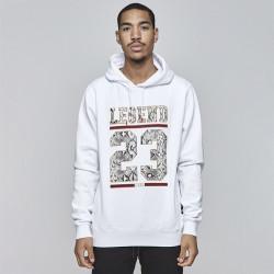 Pánska mikina Cayler & Sons BLACK LABEL Sweatshirt CSBL Constrictor Hoody white Size: XL