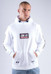 Pánska mikina CAYLER SONS CSBL Downtown Hoody Farba: white/black,