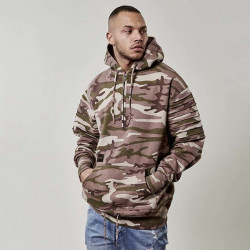 Pánska mikina Cayler & Sons Pleated Loose Fit Hoody multicolor Size: 2XL