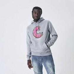 Pánska mikina Cayler & Sons Sweatshirt White Label Munchos Hoody heather grey Size: 2XL #2