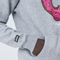 Pánska mikina Cayler & Sons Sweatshirt White Label Munchos Hoody heather grey Size: 2XL #3