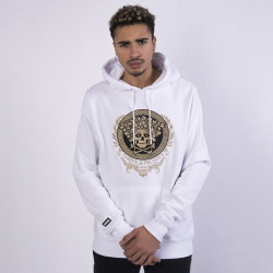 Pánska mikina Cayler & Sons WHITE LABEL Sweatshirt WL Badusa Hoody white/mc