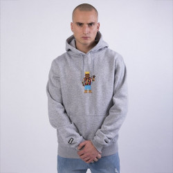 Pánska mikina Cayler & Sons WHITE LABEL Sweatshirt WL Constructed Hoody heather grey / mc