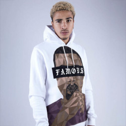 Pánska mikina Cayler & Sons WHITE LABEL Sweatshirt WL Drop Out Hoody white Size: 2XL