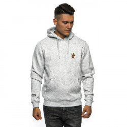 Pánska mikina Cayler & Sons WL King Lines Hoody light heather grey/mc Size: L