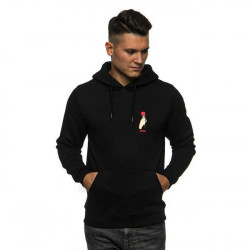 Pánska mikina Cayler & Sons WL Love Me Not Hoody black/mc Size: L