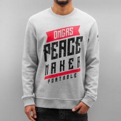Pánska mikina Dangerous DNGRS Peacemaker Sweatshirt Grey Size: M
