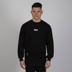 Pánska mikina Mass Denim Sweatshirt Crewneck Classics Small Logo black