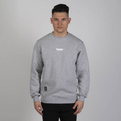 Pánska mikina Mass Denim Sweatshirt Crewneck Classics Small Logo light heather grey