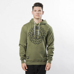 Pánska mikina Mass Denim Sweatshirt Hoody Base khaki