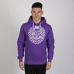 Pánska mikina Mass Denim Sweatshirt Hoody Base purple